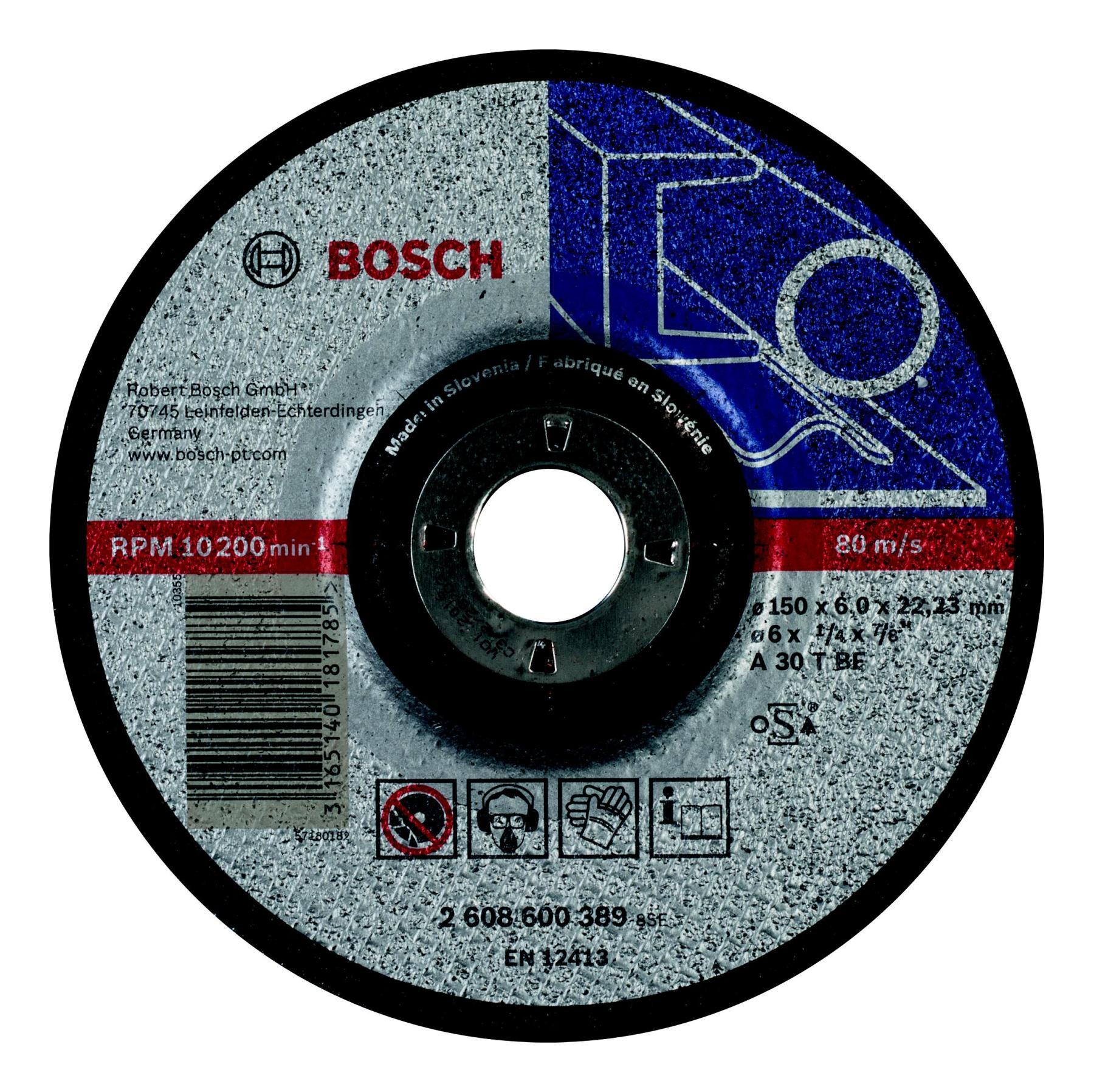 Circle Grinding BOSCH 150х6х22мм 14A