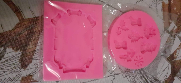 Christmas Cake Decorating Silicone Mold photo review