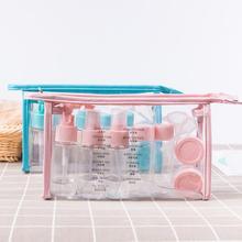 1 набор, портативный спрей, многоразовые бутылки, набор, пластиковый крем для лица, лосьон, контейнер для макияжа, для дома, путешествий, пустые бутылки с распылителем