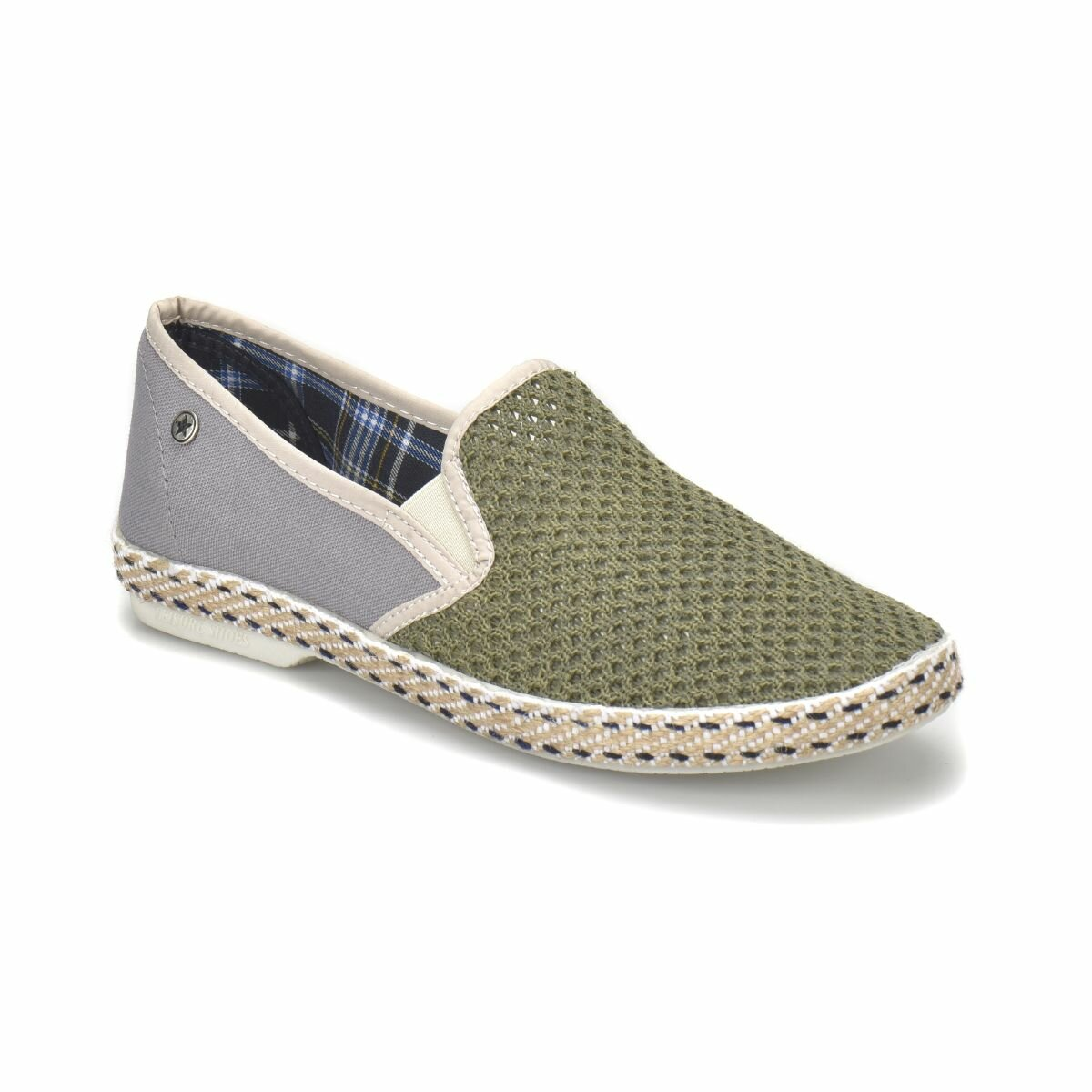 FLO 516 Khaki Men 'S Shoes Panama Club