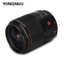 YONGNUO YN35mm 35 مللي متر F1.4 DF UWM عدسات لكاميرات كانون 6D 5D مارك الرابع 70D 200D 6D مارك الثاني T6 1300D 200D 70D 7D G7X مارك الثاني