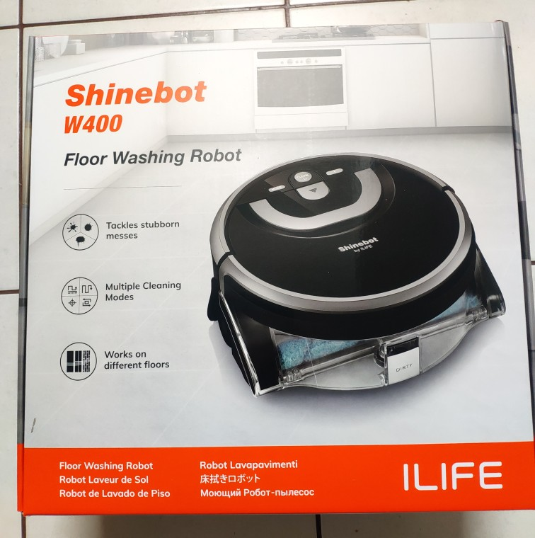 ILIFE New W400 Floor Washing Robot Shinebot Navigation Large Water Tank Kitchen Cleaning Planned Cleaning Route disinfection|Vacuum Cleaners|   - AliExpress
