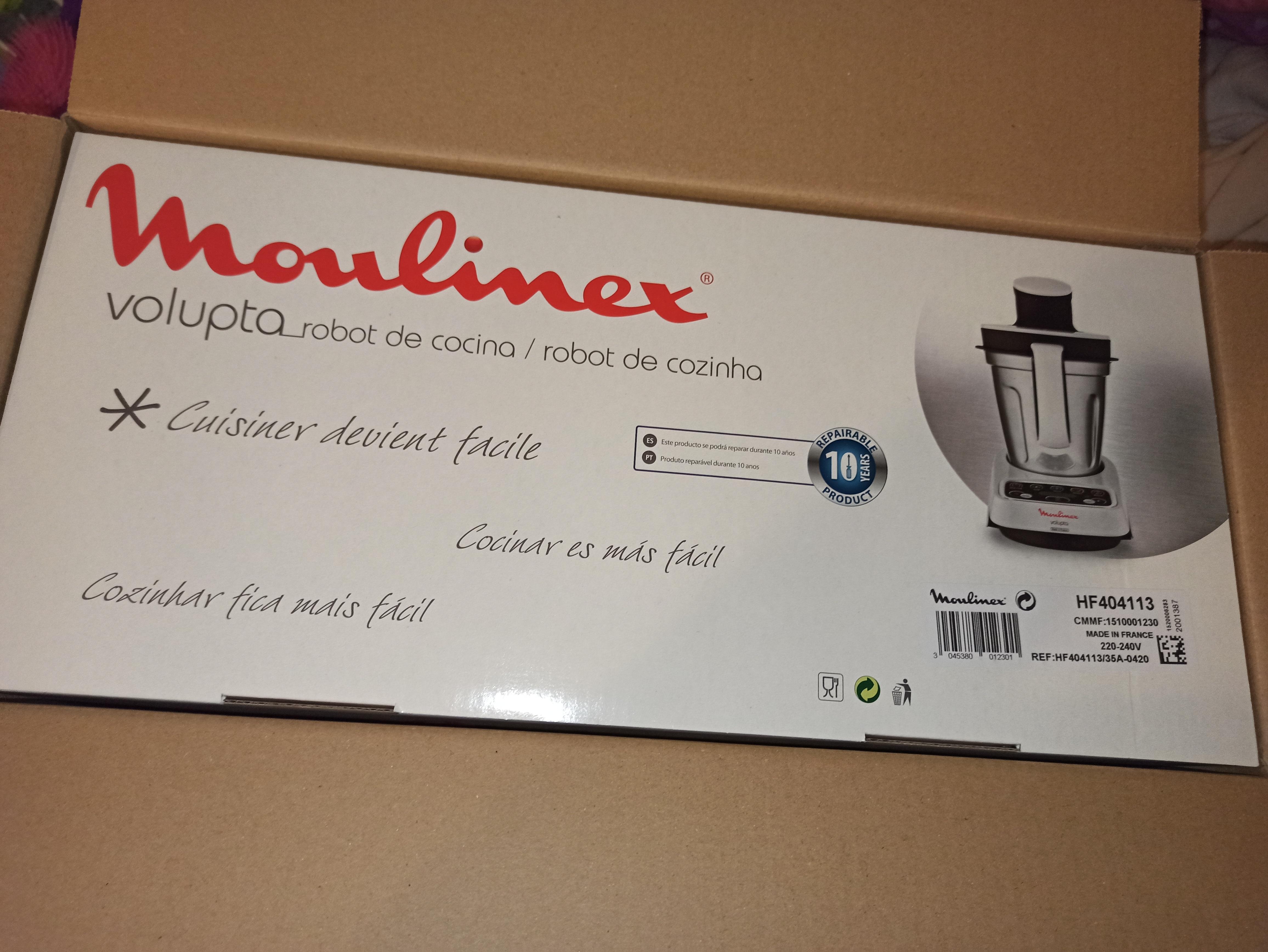 Moulinex - Robot de Cocina Volupta 1000W
