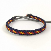 Flag of Spain's chain bracelet for men and woman Adjustable craft
