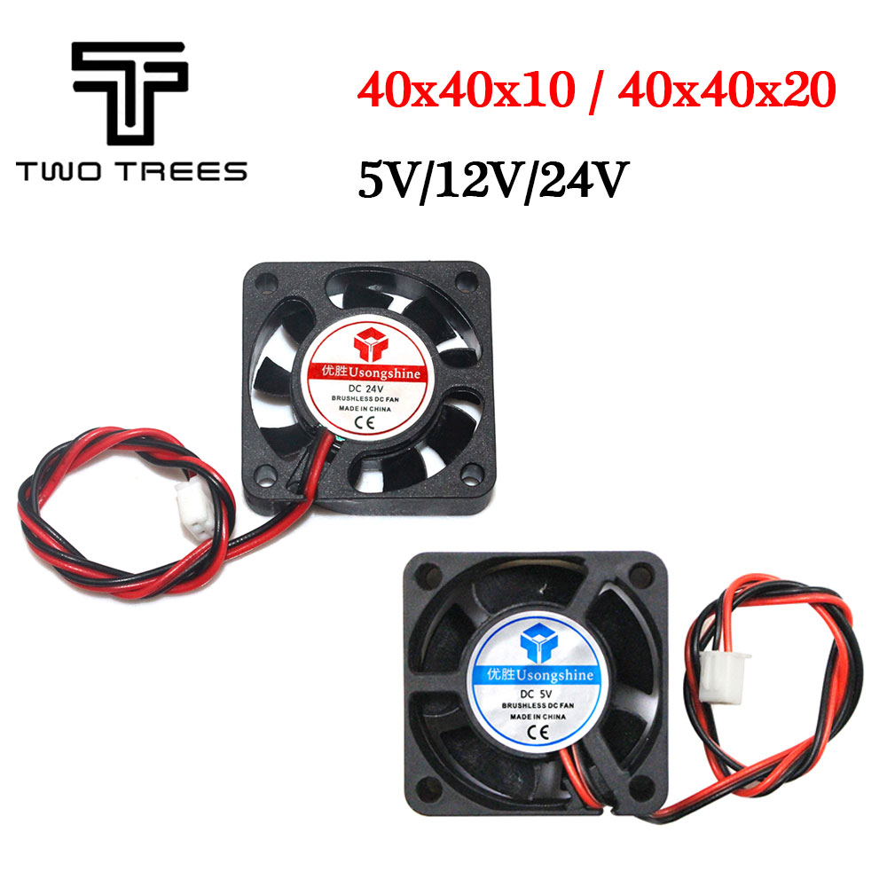 DC Brushless 12V//24V Mini Cooling Fan 30x30x10mm Cooler Spare For 3D Printer
