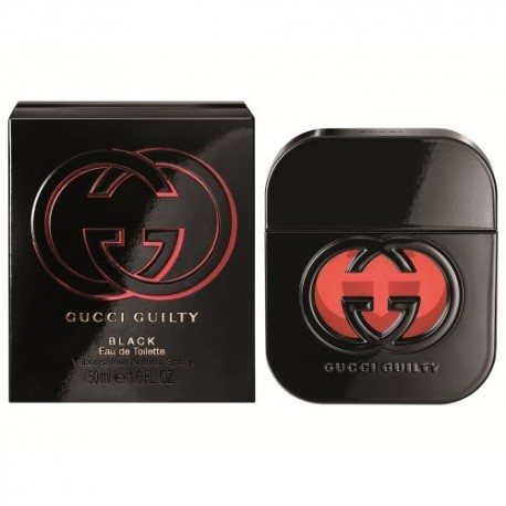 GUCCI GUILTY EDT 50ML BLACK WOMAN