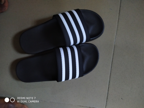 ASIFN Men's Slippers EVA Men Shoes Women Couple Flip Flops Soft Black and White Stripes Casual Summer Male Chaussures Femme|Slippers|   - AliExpress