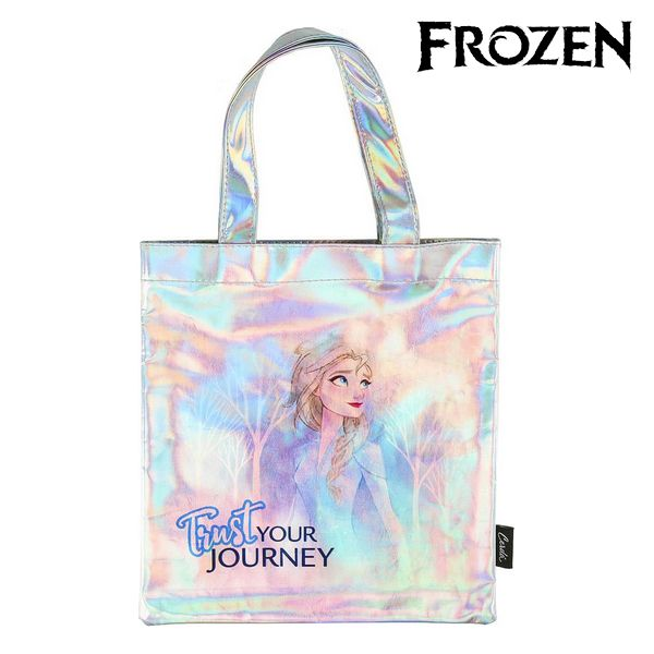 Bag Frozen 72872 Sky Blue Metallic