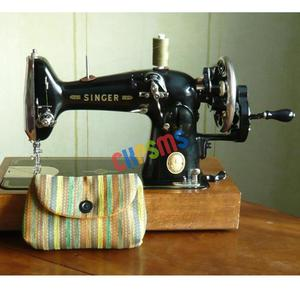 Image 4 - 1SET Hand Crank fit for Singer Spoked Wheel Treadle Sewing Machines 15 ,127,128,66, 99 #HA 1 126