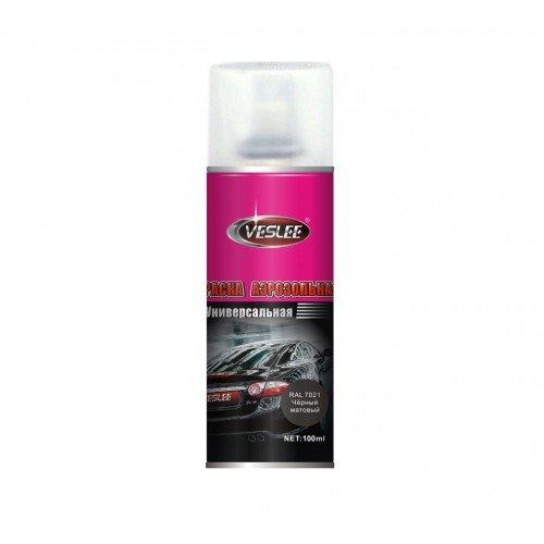 Spray paint vesslee black matte 100 ...