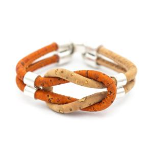 Image 4 - Bracelet en liège coloré original vintage unisexe fait main bijoux bracelet BR 424 MIX 5