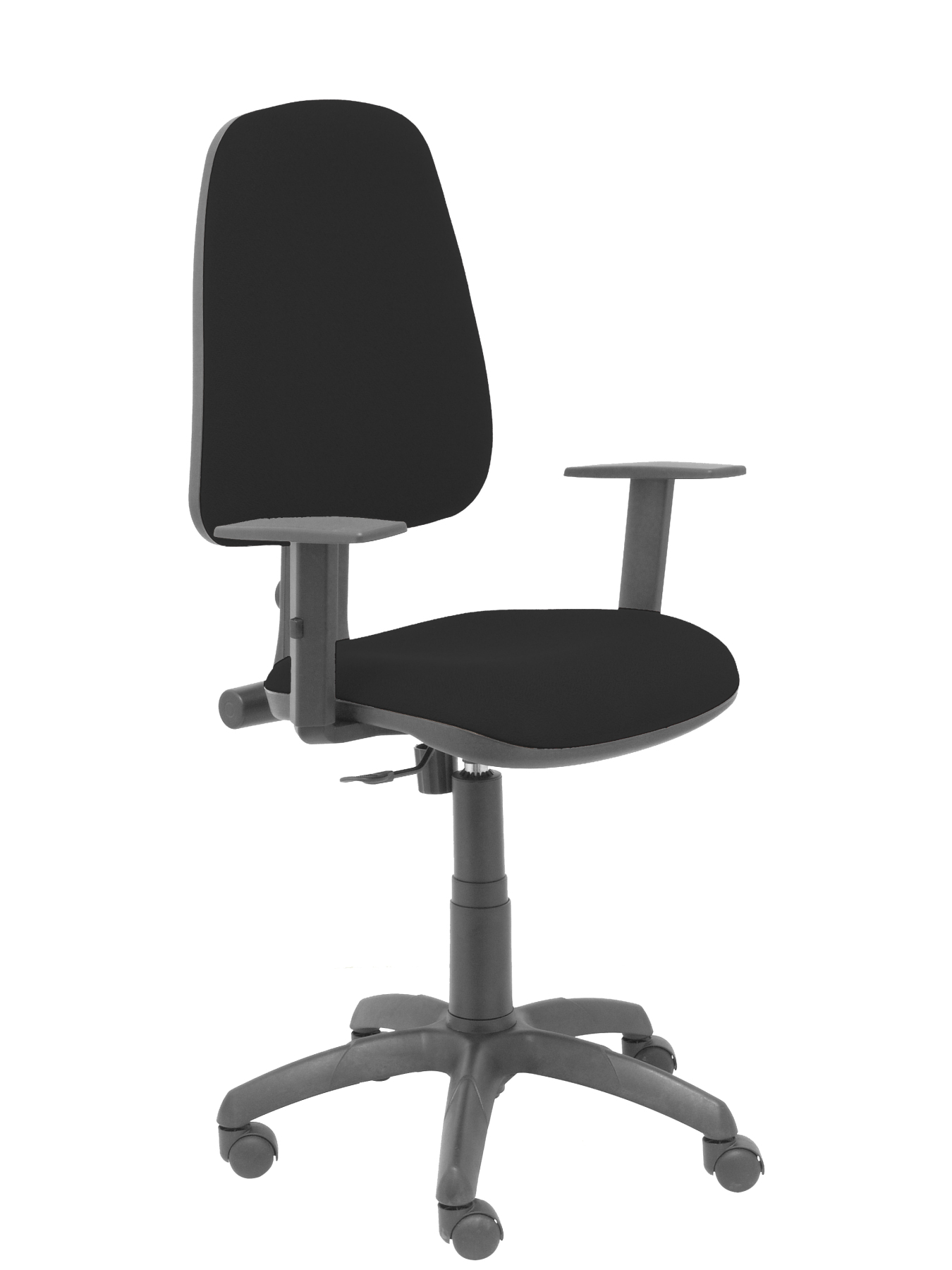 Office Chair With Mechanism Permanent Contact And Adjustable Height-Seat And Backrest Cushion Fabric BAL