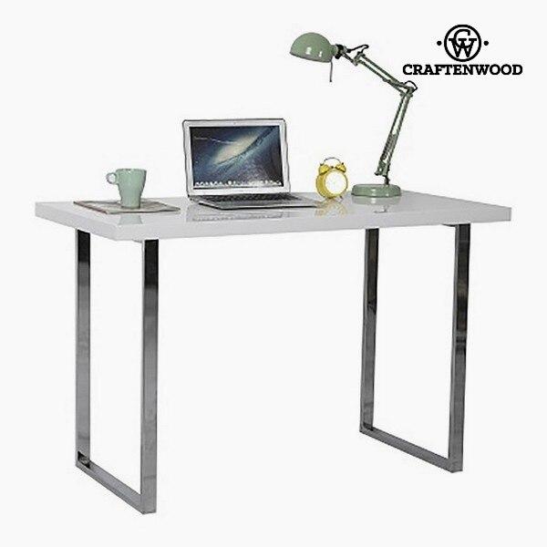 Desk (120 X 60 X 76 Cm) Chrome-plated Steel White