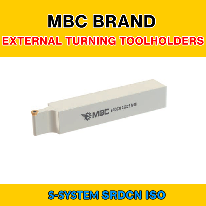 SRDCN 005 ISO S SYSTEM EXTERNAL TURNING TOOLHOLDERS LEFT/RIGHT SRDCN 25X25 M10|Turning Tool| |  - title=