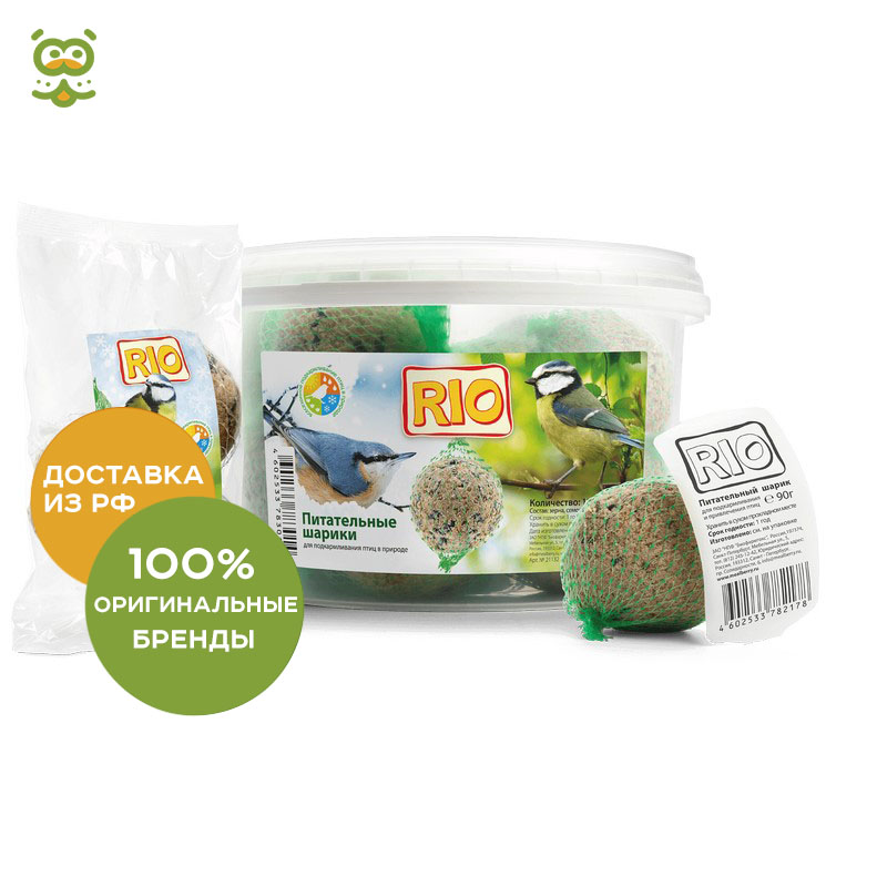 RIO Nourishing bead for birds, 1*90g.