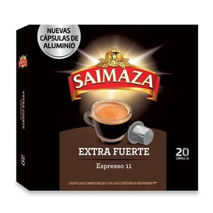 EXTRA Strong 20 Nespresso compatible SAIMAZA aluminium capsules