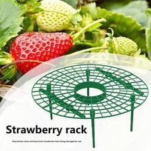 5/10PCs Family Planting Strawberry Tray Rack Frame Holder Fruit Support Plant Climbing Vine Pillar for Garden Strawberry Stand недорого