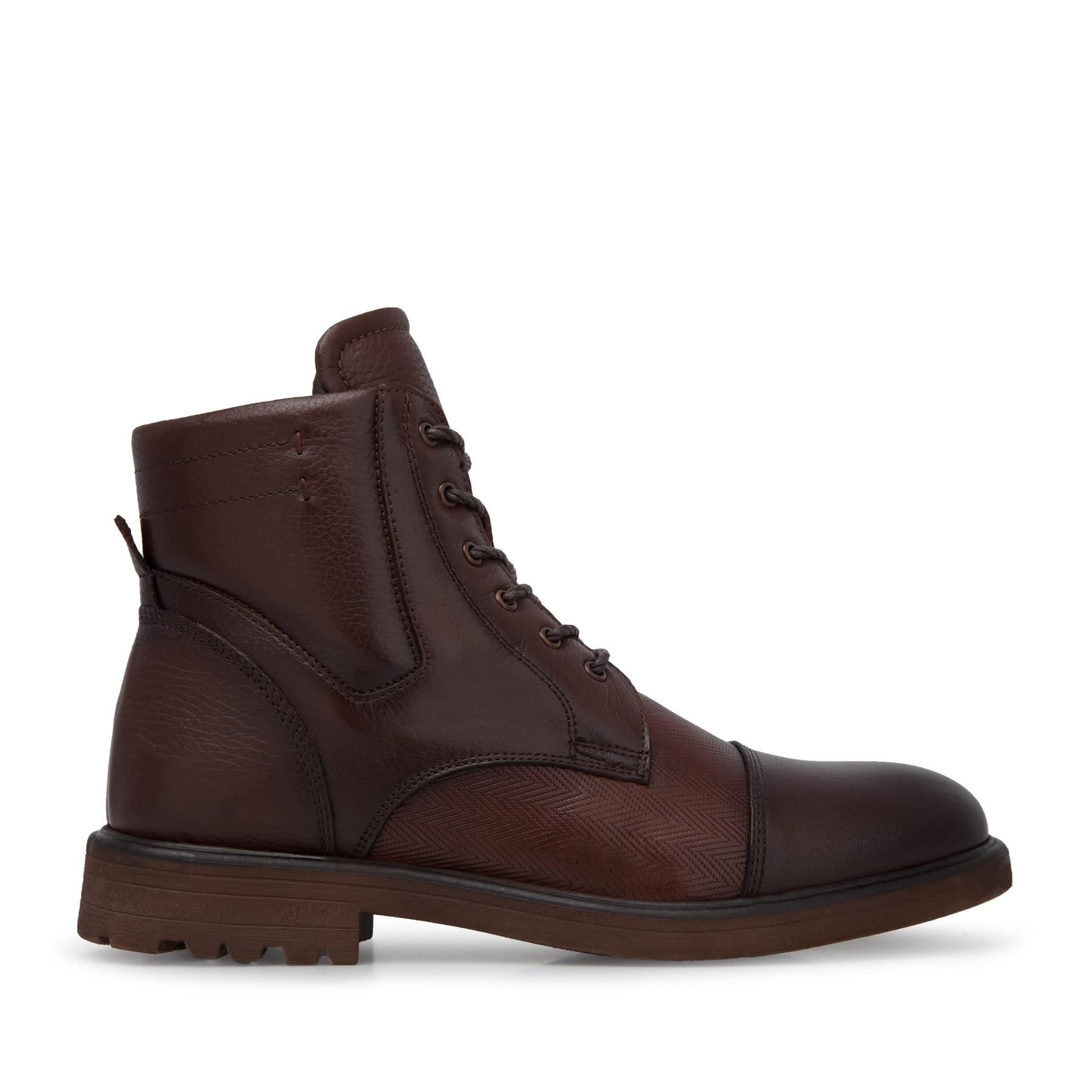 Marcomen Leather Boots MEN 'S BOOTS 15210163