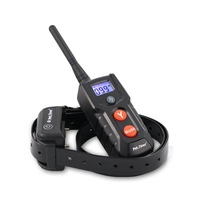 PET916 100% Waterproof Dog Shock Collar with Remote 1000 ft Rechargeable 100g2280