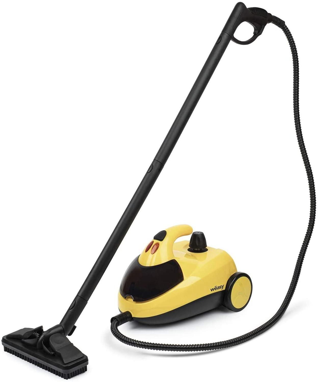 Winkel NVP15 steam cleaner, Vaporeta 1500W, 4 bars, 45 min range, water capacity of 1,5 L, inner compartment,