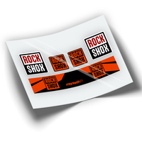 Pegatinas amortecedor ROCKSHOX MONARCH R WP198|Ades. bic.|Esporte e Lazer -