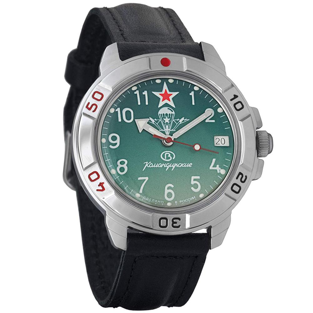 Vostok Komandirskie 431307 Mechanical Russian Watch Hand-winding Paratrooper Airborne Military Special Forces Of Russia