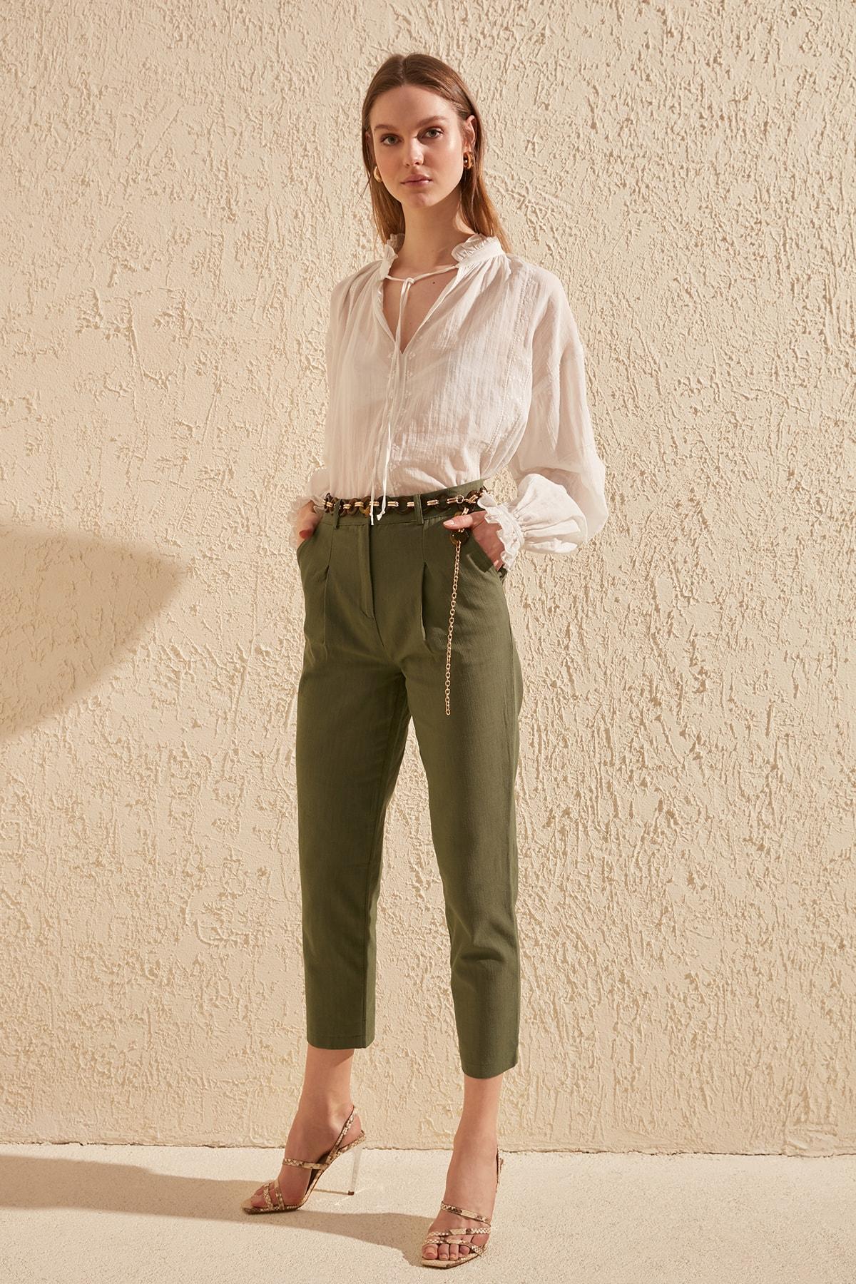 Trendyol Basic Pants TWOSS20PL0017