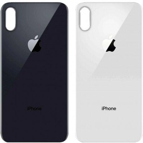 Tapa Trasera Reemplazo De Cristal Para IPhone X 10 - Agujero Camara Grande
