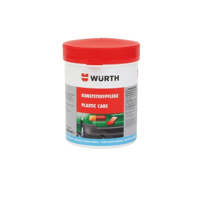 WÜRTH EXTERIOR PLASTIC AND BUMPER POLISH 1000 ML   ORIGINAL PRODUCT   FAST SHIPPING    EXP DATE 07/22