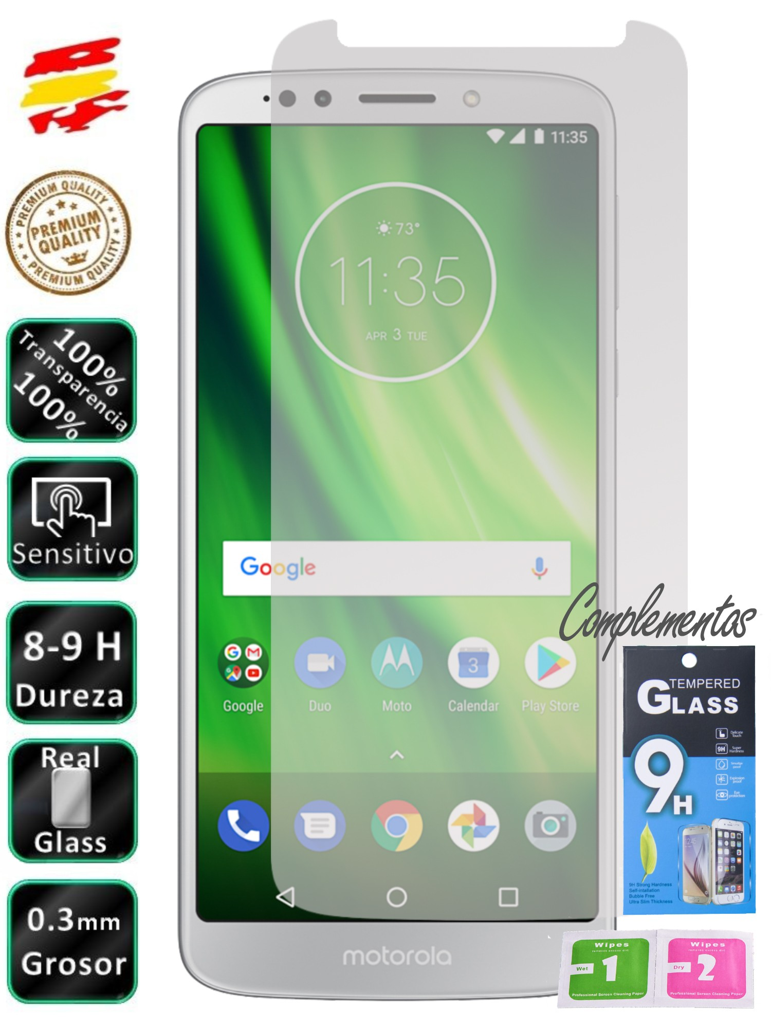 Motorola Protective Motorbike G6 Play Tempered Glass Screen Mobile