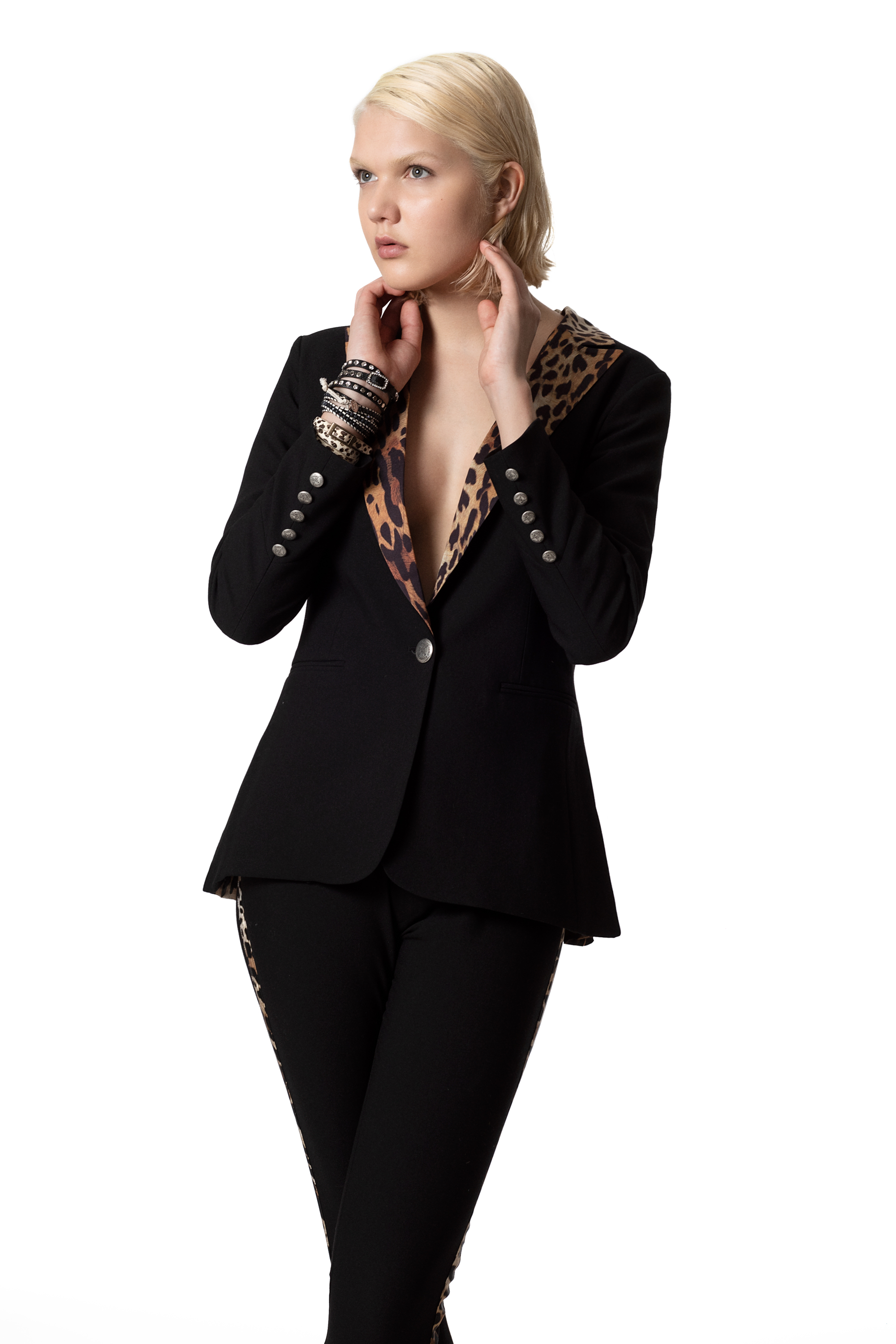 CUPID KILLER COLLECTION Austin Blazer For Women Profesinal Shape Black Color CK000152-1