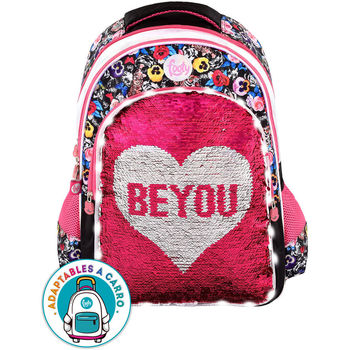 LED backpack sequins Be You adaptable 45cm
