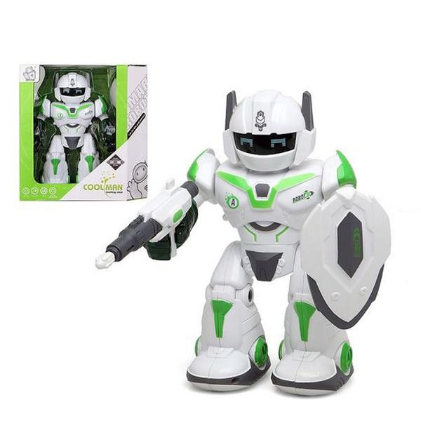 Robot Cool Man 111125 White Light Sound