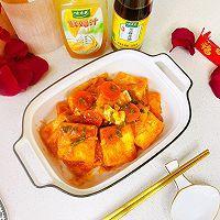 """#美食说出""""新年好""""#茄汁鸡蛋豆腐的做法图解15"""