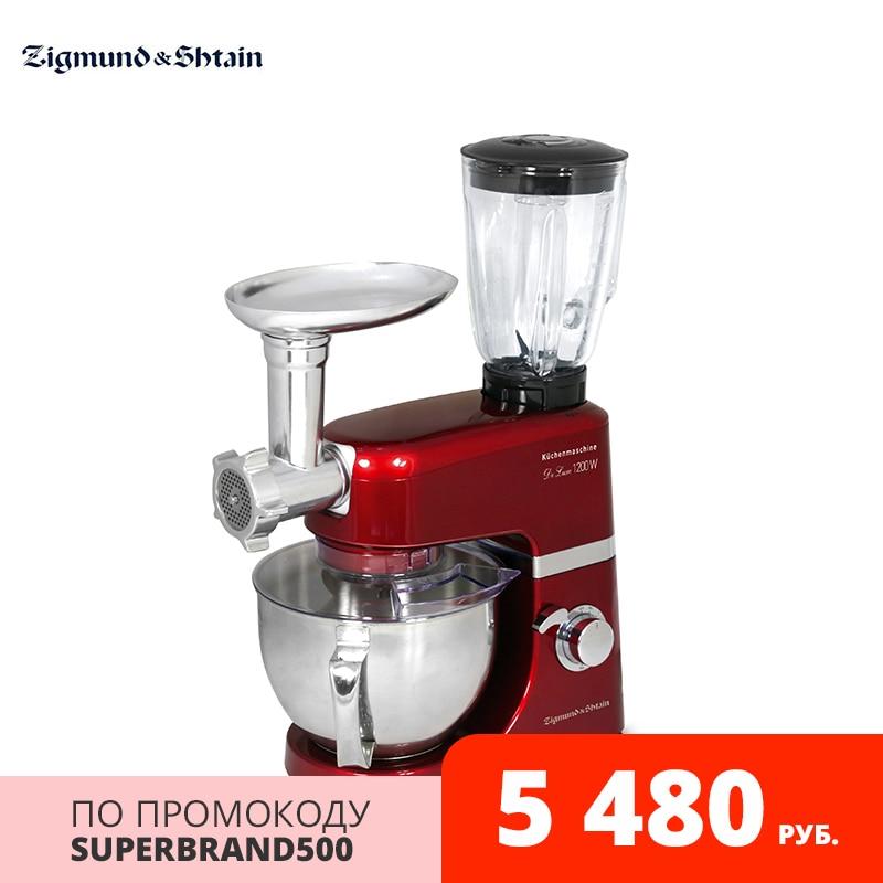 Кухонный комбайн Zigmund & Shtain De Luxe ZKM 950|Кухонные комбайны|   | АлиЭкспресс