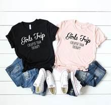 Skuggnas – t-shirt de voyage pour filles, à la Mode, pour le week-end, moins cher que la thérapie, nouvelle collection