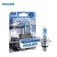 For H4 12 V-60/55 W (P43t) (absolutely white light) whiteVision ultra blister card (1 PCs) 12342WVUB1