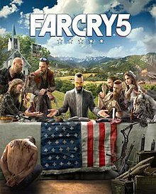 Original PS4 digital download game for 8-days RENT Far Cry 5