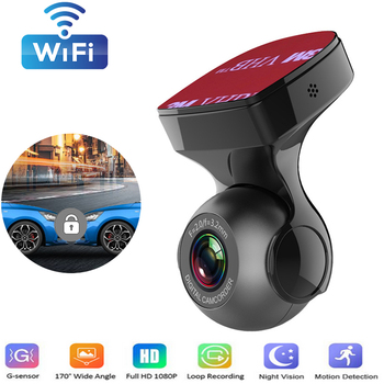 Wifi Dashcam Car Dvr 1080P Night Vision Dash Cam Dash Camera With G-sensor 170 Degree Wide Angle Car Video Recorder original philips cvr 108 car dvr camera 130 degree driving video recorder dash camera 1080p with g sensor wdr night vision