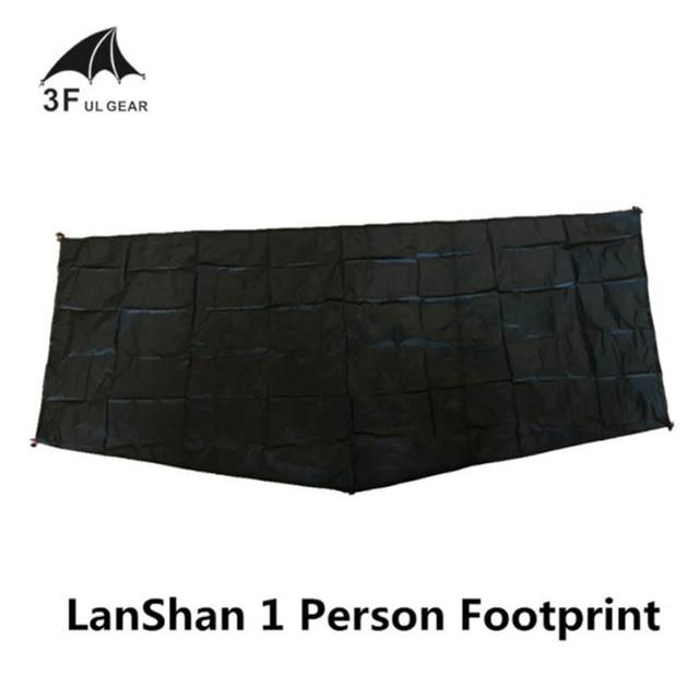 3F UL GEAR LanShan 1 Tent footprint groundsheet original silnylon ground cloth 210*95cm 1