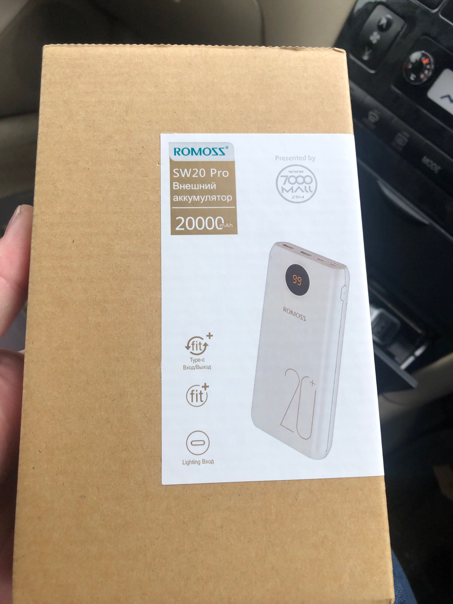Romoss SW20 pro 20000 mAh power bank external battery pd3.0 fast charge with LED display [shipping from Russia] Molnia|Power Bank|   - AliExpress
