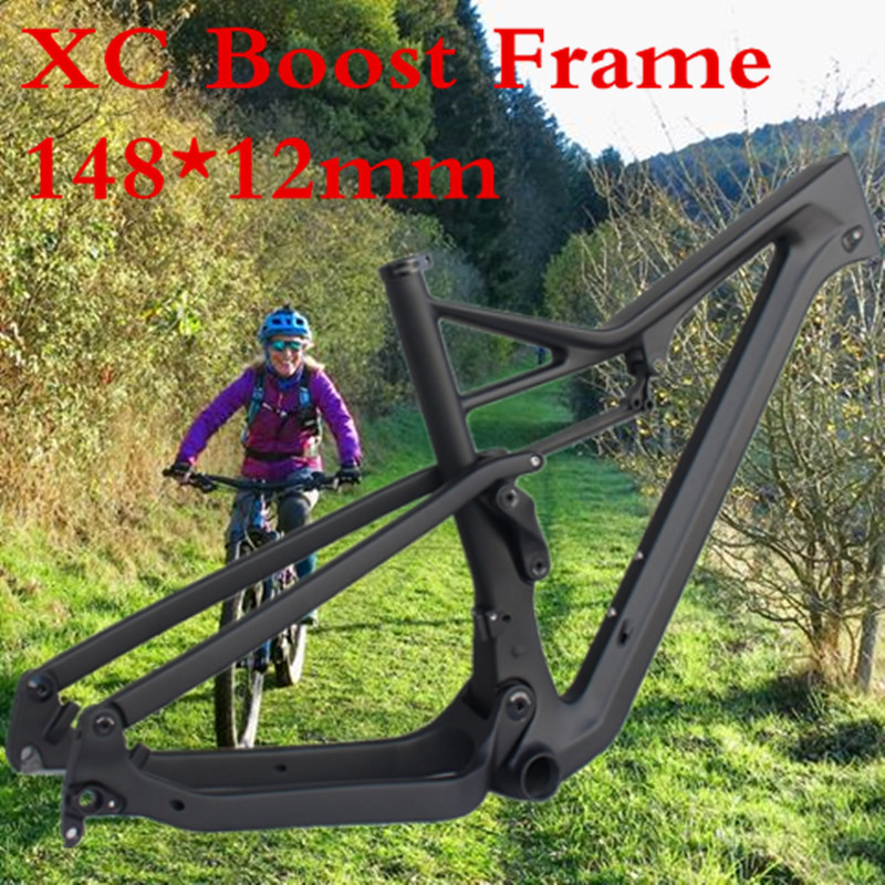 29er Full Carbon Suspension MTB Frame 148*12 Thru Axle  Latest Version Carbon Frame/bicycle Frame /MTB Suspension Frame /27.5er