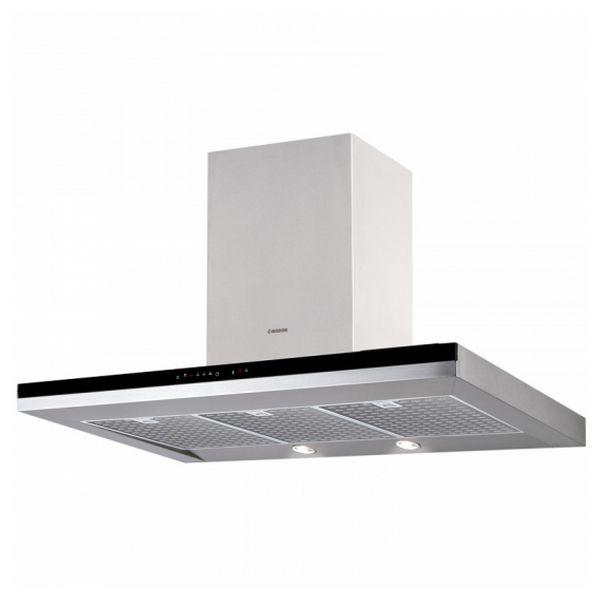 Conventional Hood Nodor 130W 820m3/h Inox LED Steel