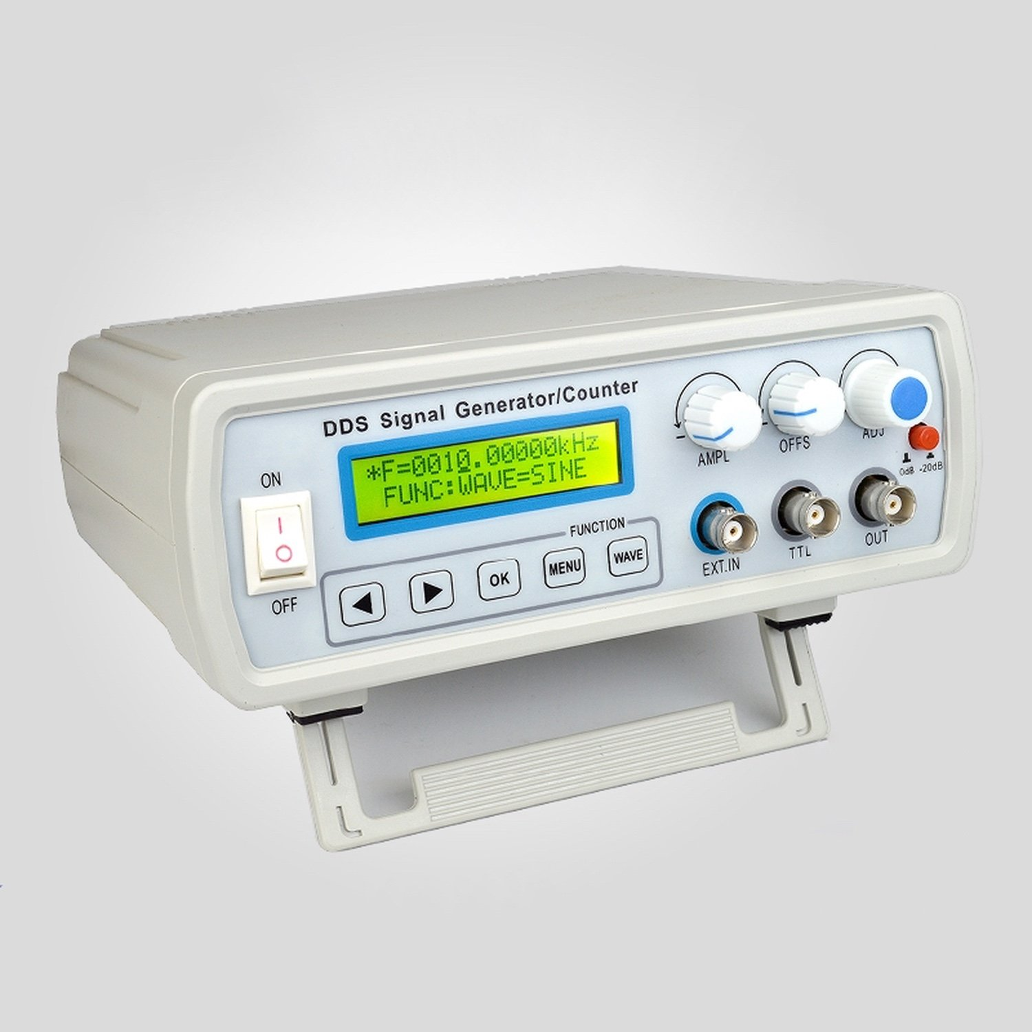 FY2105SDirect Digital Synthesis (DDS) Signal Generator 5Mhz and frequency counter 60mhz with USB with fy1000s function signal generator dds signal source 60mhz frequency counter dual ttl output