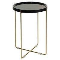 Kleine Seite Tisch (41x41x57 cm) Marmor auf