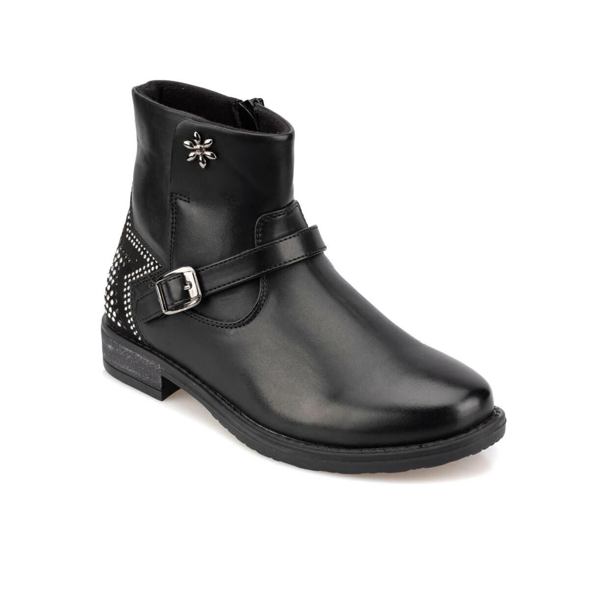 FLO 92.511817.F Black Female Child Boots Polaris