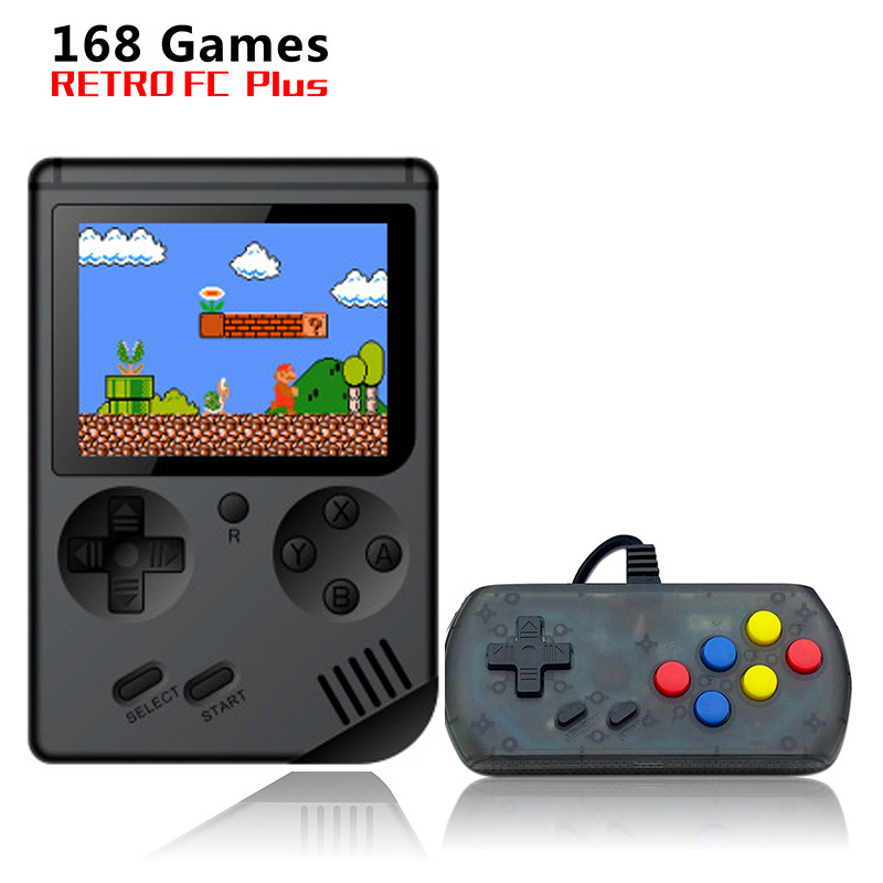 Game Boy Video Game Console 8 Bit Retro Mini Pocket Handheld Game Player Built-in 168 Classic Games for Child Nostalgic Player