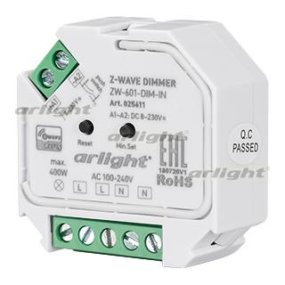 025611 INTELLIGENT ARLIGHT Dimmer ZW-601-DIM-IN (100-240 V, 1x2A) ARLIGHT 1-pc