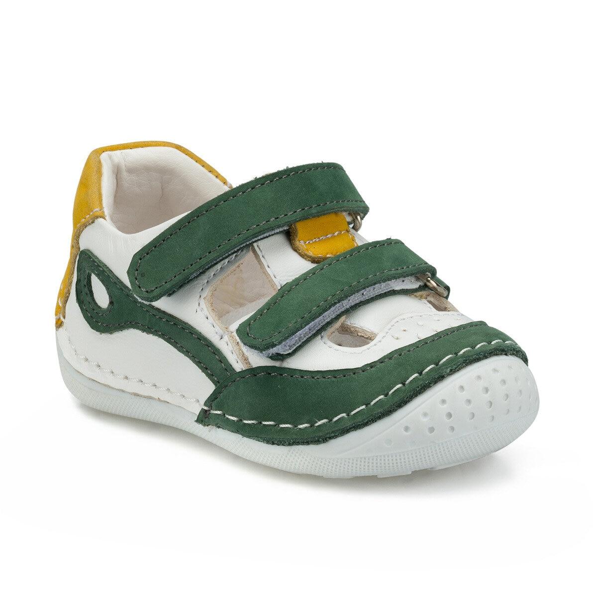 FLO 512207.I Green Male Child Sneaker Shoes Polaris