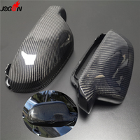 For Audi A3 S3 8P 10 12 A4 S4 B8 8K ( B8.5 ) 12 15 A5 S5 RS5 B8 Carbon Fiber Side Wing Rearview Mirror Cap Case Shell Cover Trim